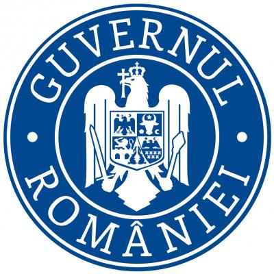 Sigla Guvernului Romaniei Versiunea 2016 Cu Coroana